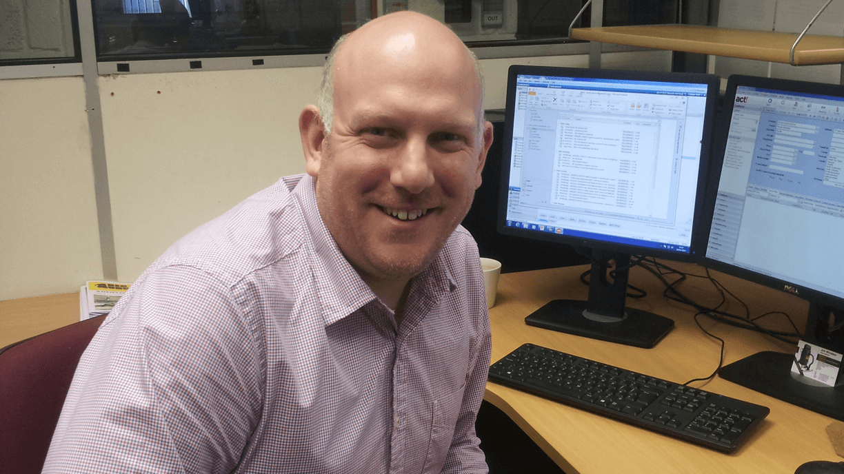 Jim Windsor, New Big Brute Sales Advisor At Michael Williams Engineering Ltd