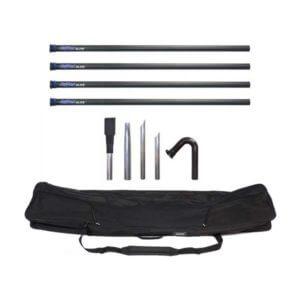 Big Brute Elite 4-Pole Gutter Cleaning Kit