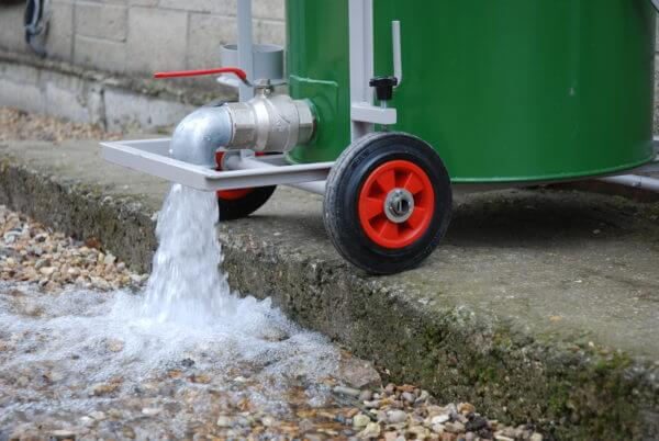Wet & Dry Drainage Valve Emptying