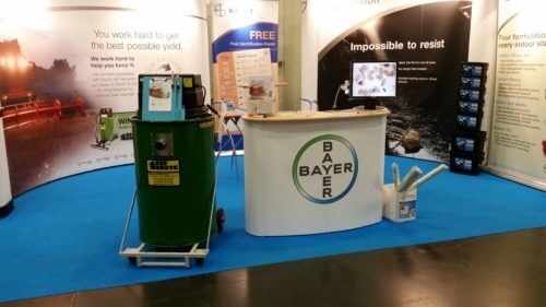 Bayer Crop Science Stand At CropTec 2014 With A Big Brute Popular Vacuum Cleaner
