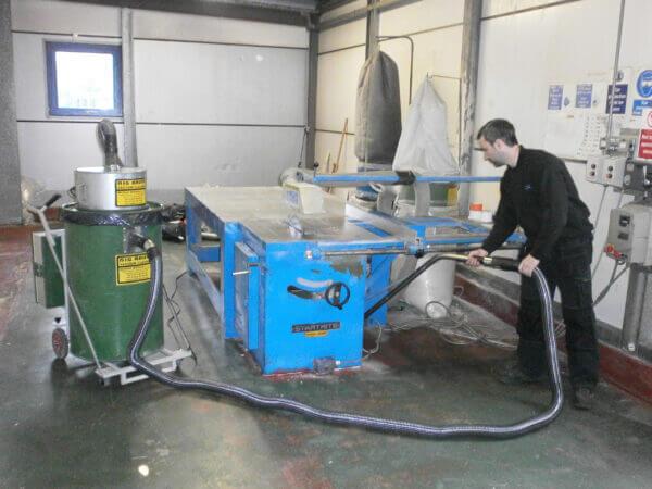 Industrial Vacuum Cleaner Insulation Board Waste