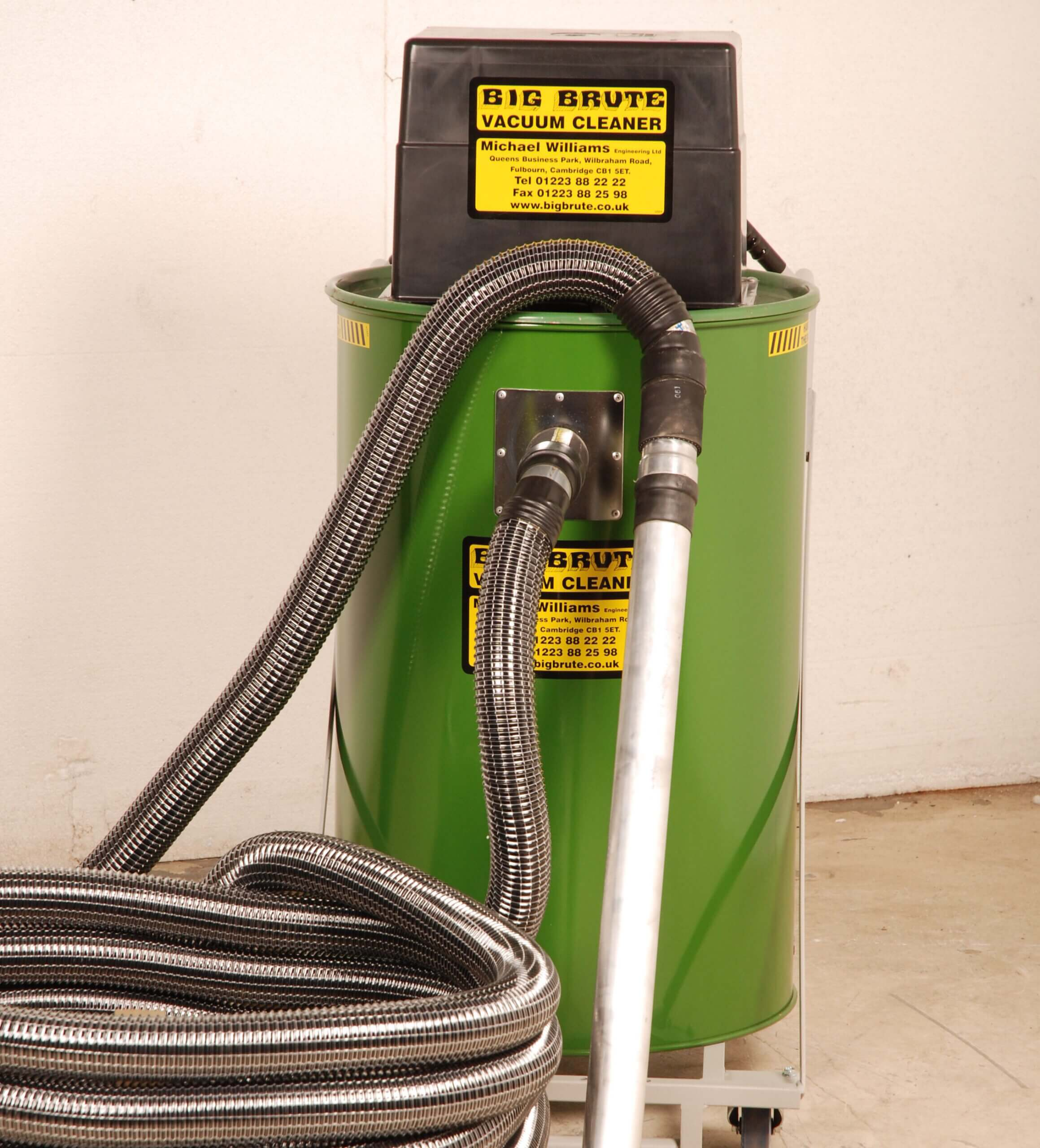 Big Brute Popular Industrial Vacuum Cleaner With Long Hose