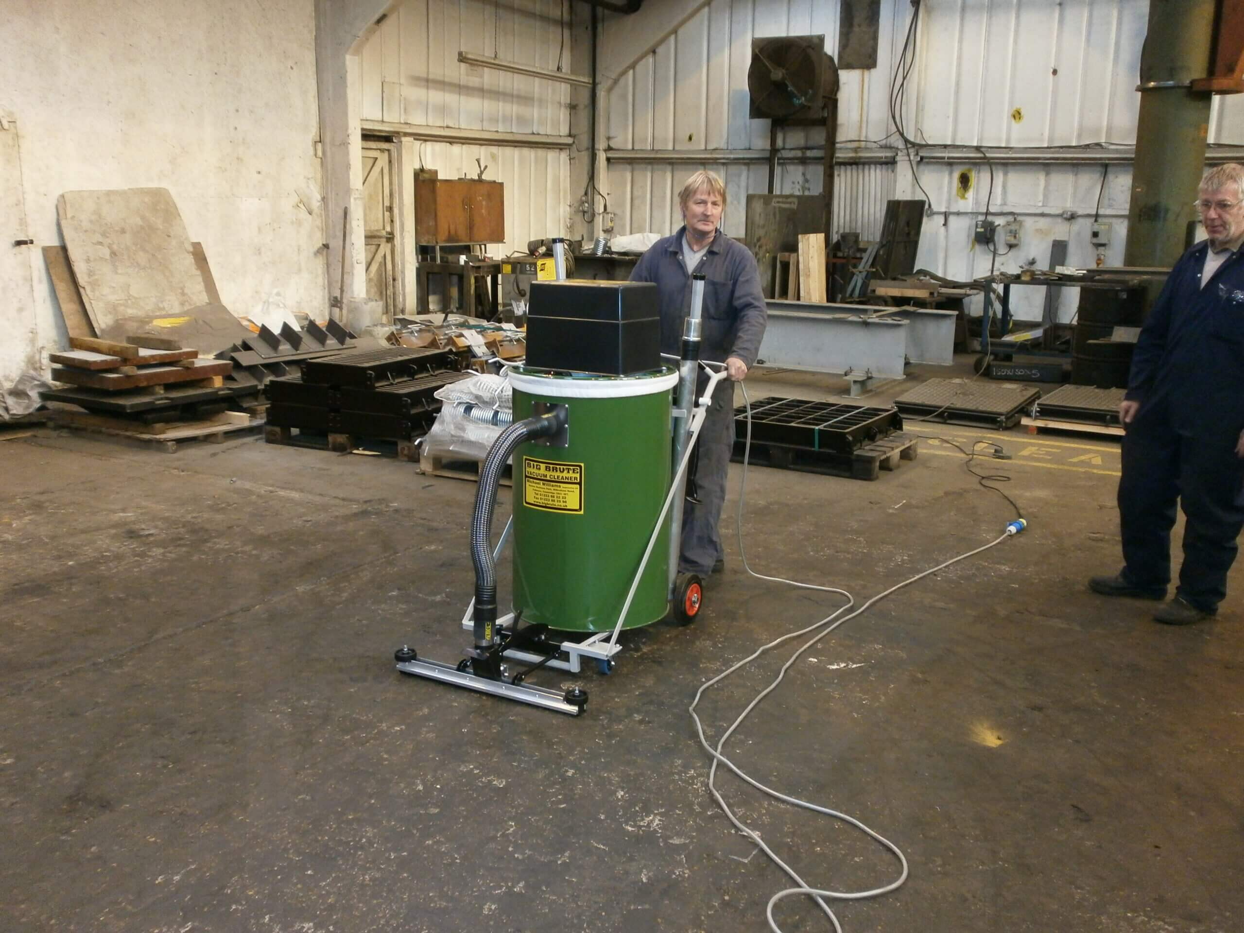 Gatic Dover With Their New Big Brute Warehouseman Industrial Vacuum Cleaner