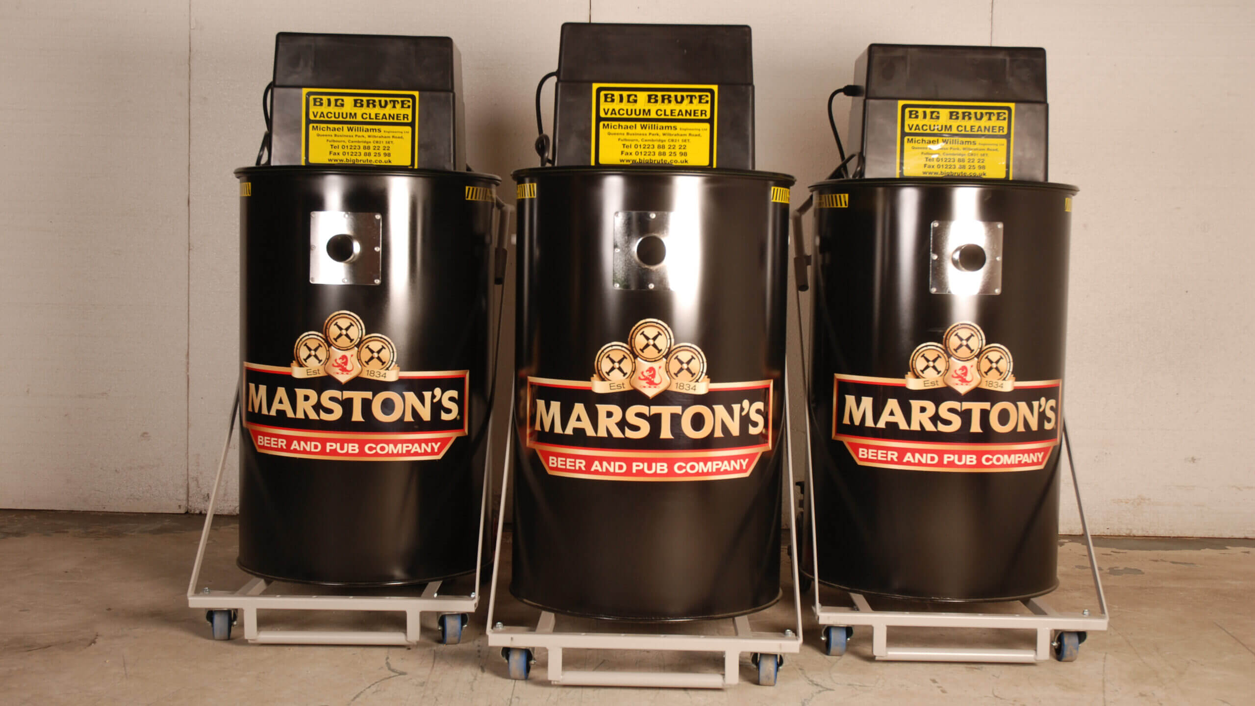 Marstons' Big Brutes in the Marston Company Colours and Decals