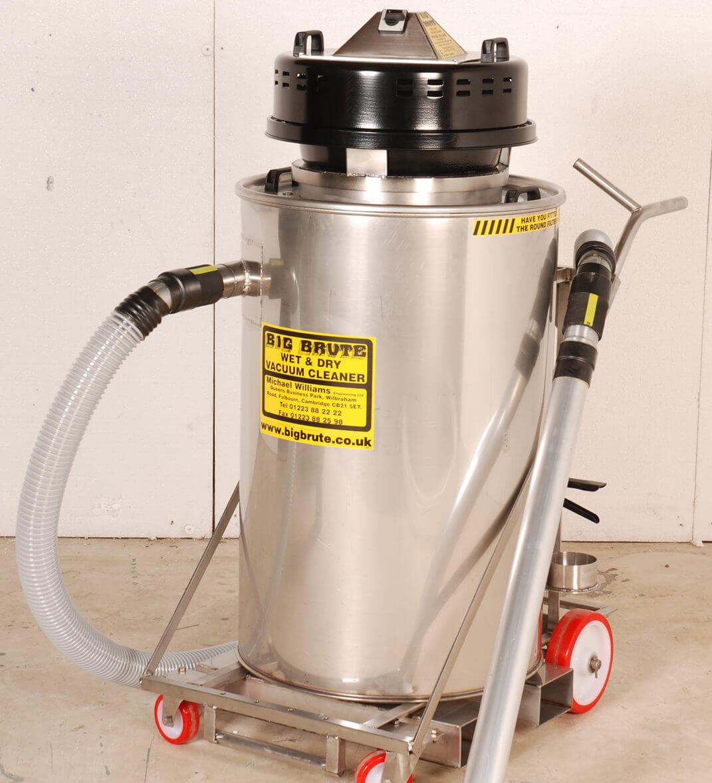 Big Brute Wet & Dry Stainless Steel Industrial Vacuum Cleaner