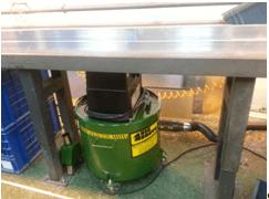 Under-Bench Mini Big Brute Industrial Vacuum Cleaner