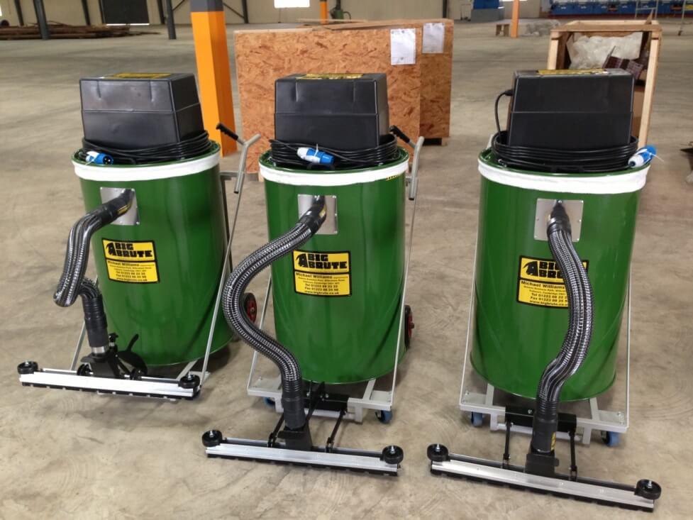 Wire Weaving Technologies Ghana Receive Their 3 Big Brute Warehouseman Industrial Vacuum Cleaners