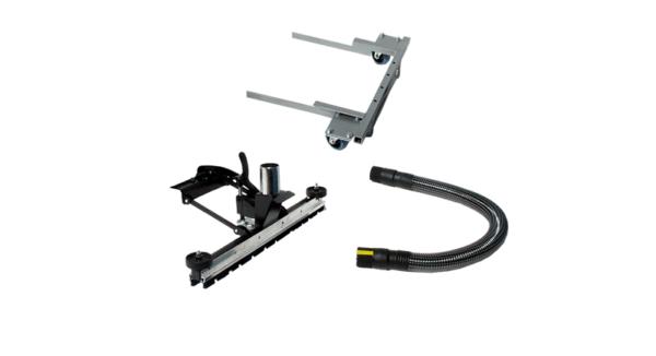 Front Mounted Floorbrush Upgrade Kit For 2 Wheeled Trolleys