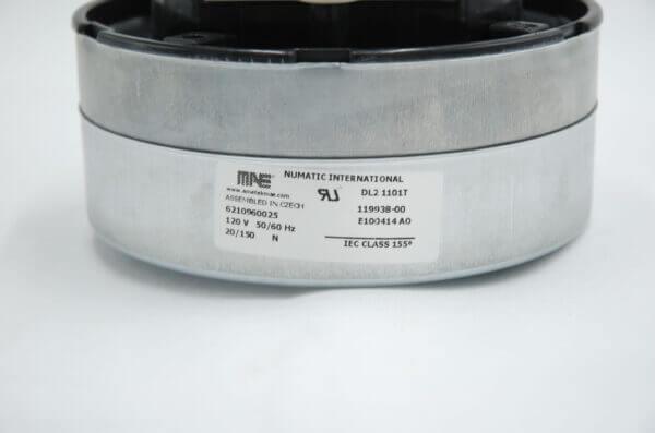 230V DAF Big Brute Motor Product Label