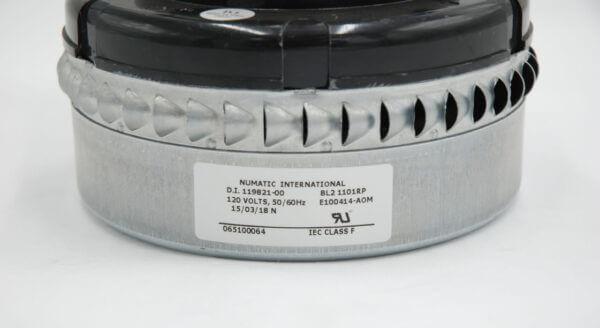 V311 110V Big Brute Bypass Motor Product Label