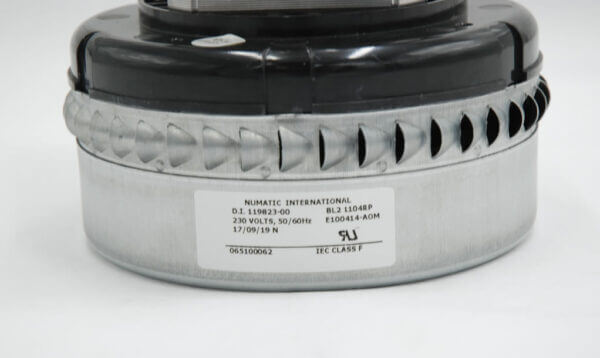 230V Big Brute Bypass Motor Product Label