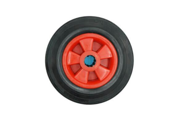 V181 200mm solid rubber wheel