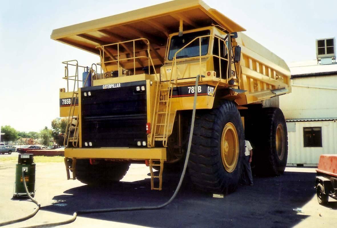 Big Brute Cleaning Mining Excavation Plant Equipment in Australia