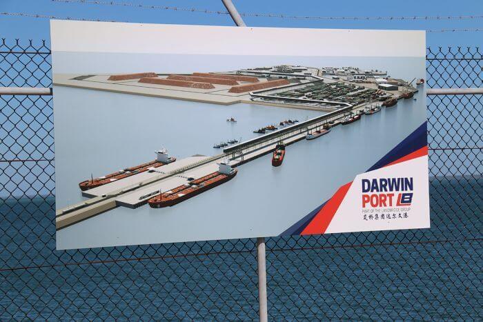 Darwin Port, NT, Australia
