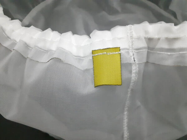 V1008 300 Micron Filter Yellow Tag