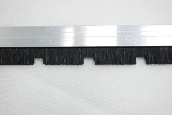 V98 Warehouseman Brush Front Bristle Strip Detail